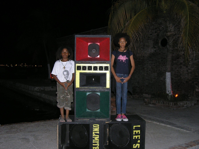 Negus Tafari and princess...KyMani EarthLight Morgan's Harbour...lot of things happen that night